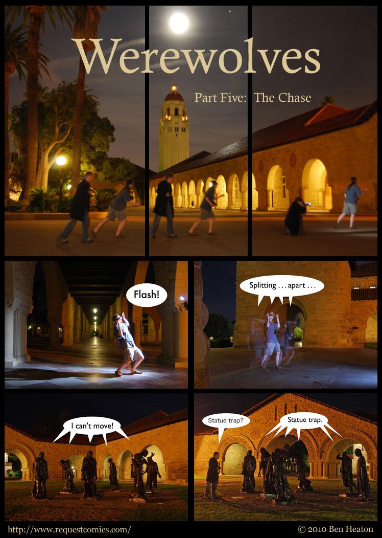 Werewolves, Part Five comic