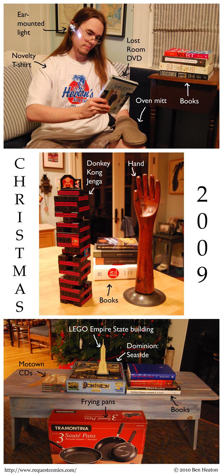Christmas 2009 comic