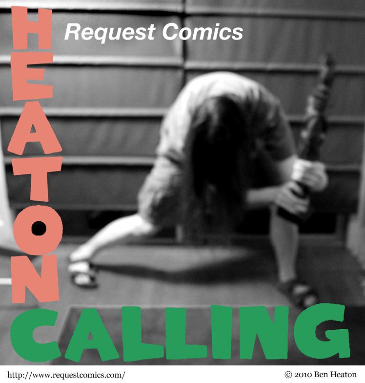 Heaton Calling comic