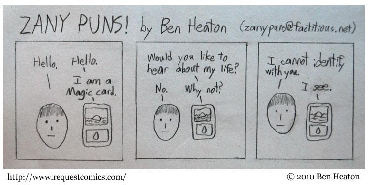ZANY PUNS! comic