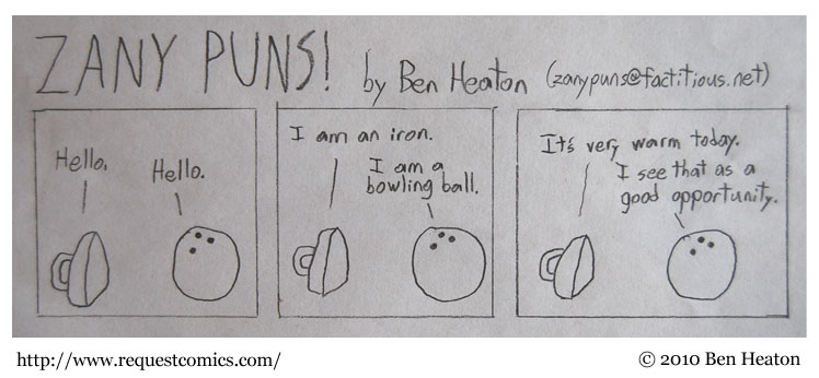 More ZANY PUNS! comic